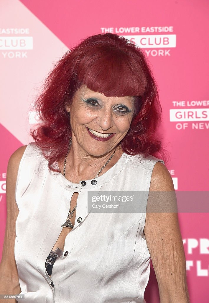 Event honoree designer Patricia Field attends The Lower Eastside Girls Club Spring Fling 2016 at The Bowery Terrace at the Bowery Hotel on May 25...