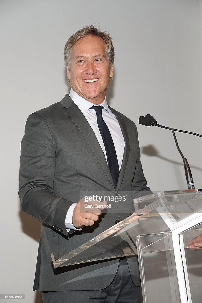 Event honoree James Huniford attends Housing Works Groundbreaker Awards at Metropolitan Pavilion on April 24, 2013 in New York City.