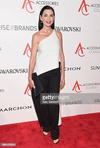 Event honoree Julianna Marguiles attends the 2016 Accessories Council ACE Awards at Cipriani 42nd Street on August 2 2016 in New York City