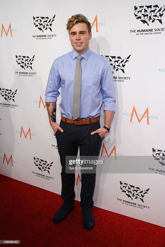 Event honoree, Olympic silver medalist Gus Kenworthy attends 'To the Rescue! New York' 60th Anniversary Gala at Cipriani 42nd Street on November 21, 2014 in New York City.
