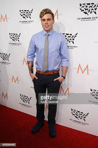 Event honoree Olympic silver medalist Gus Kenworthy attends 'To the Rescue New York' 60th Anniversary Gala at Cipriani 42nd Street on November 21...
