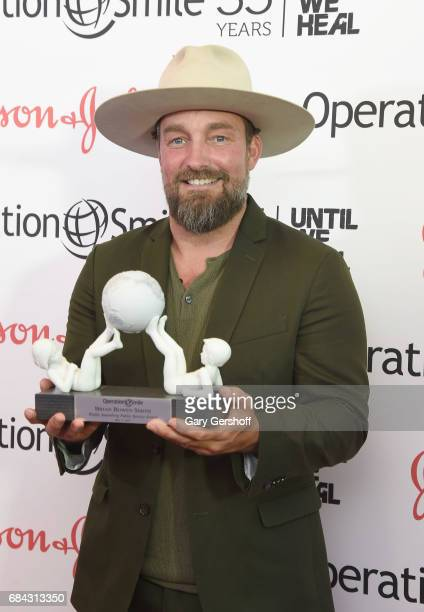 Event honoree photographer Brian Bowen Smith attends the 35th Anniversary of Operation Smile at West Edge on May 17 2017 in New York City