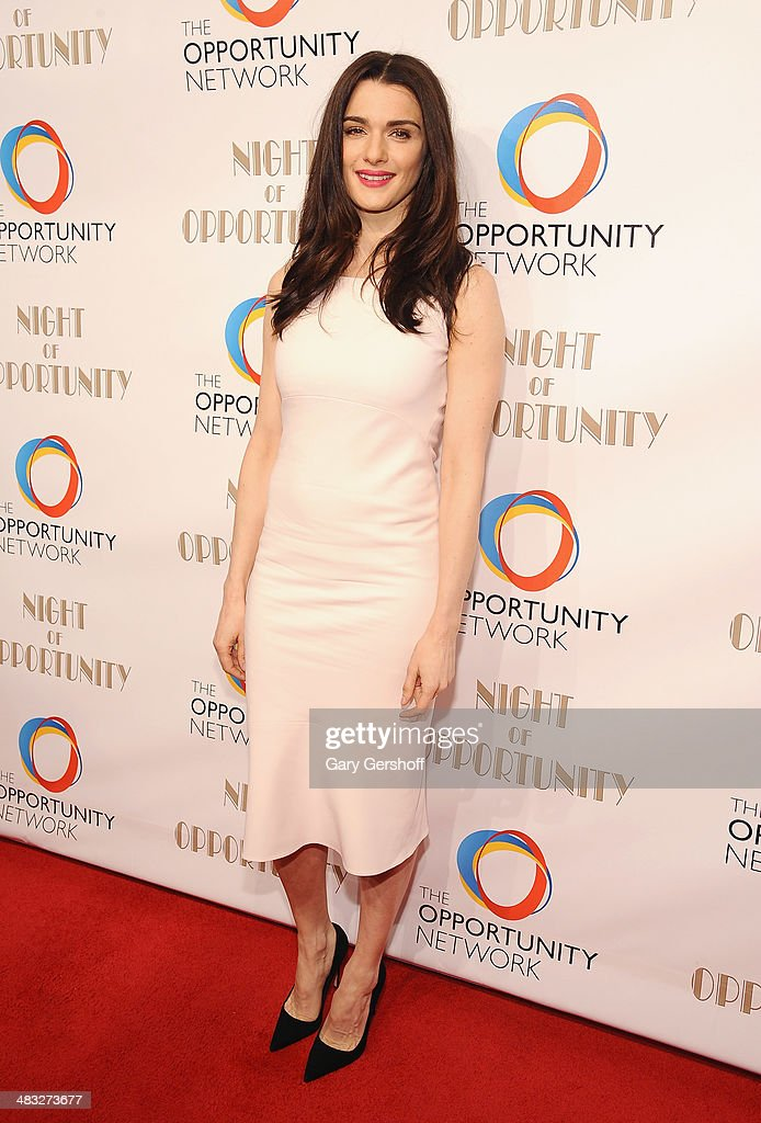 Event honoree <a gi-track='captionPersonalityLinkClicked' href=/galleries/search?phrase=Rachel+Weisz&family=editorial&specificpeople=204656 ng-click='$event.stopPropagation()'>Rachel Weisz</a> attends the 7th annual Night of Opportunity Gala at Cipriani Wall Street on April 7, 2014 in New York City.