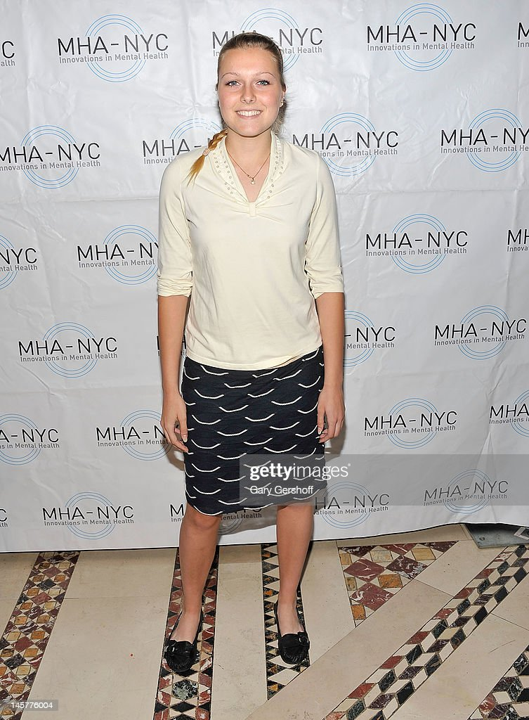 Event honoree Sarah Rainey attends the 2012 Mental Health Association of New York City Celebration of Hope Gala at Cipriani 42nd Street on June 5, 2012 in New York City.