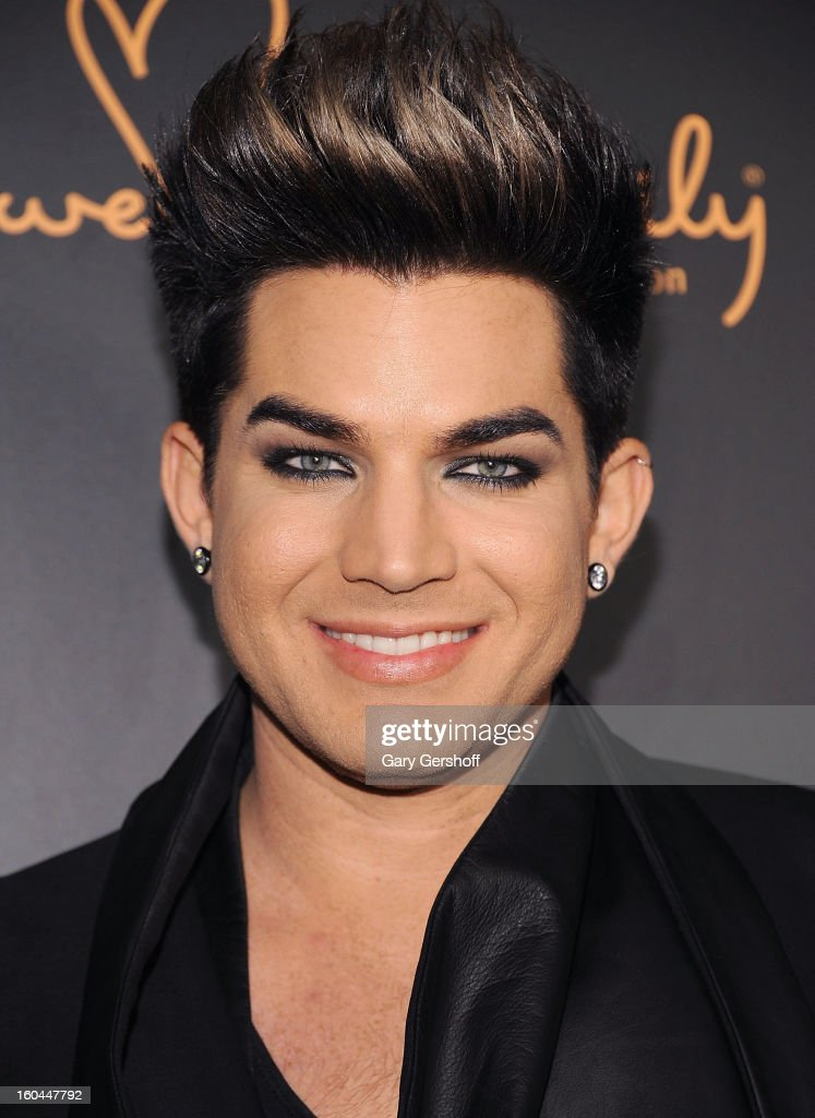 Event honoree, singer Adam Lambert attends 2013 We Are Family Foundation Gala at Hammerstein Ballroom on January 31, 2013 in New York City.