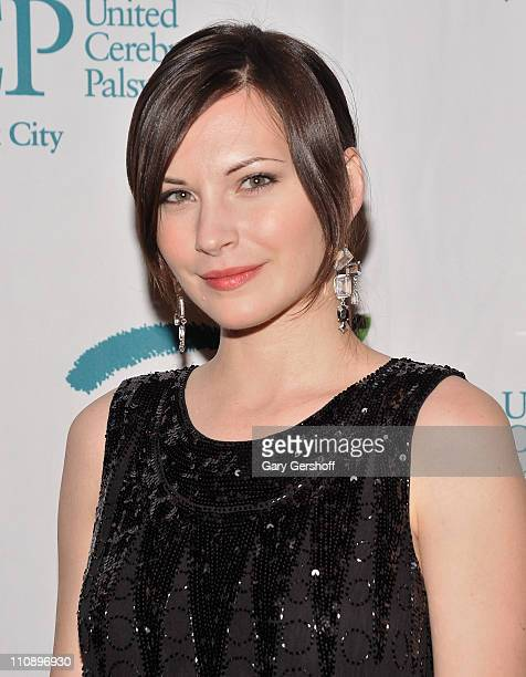 Event host actress Jill Flint attends the 2011 Great Gatsby Gambling Gala benefitting United Cerebral Palsy of New York City at Fino Ristorante...