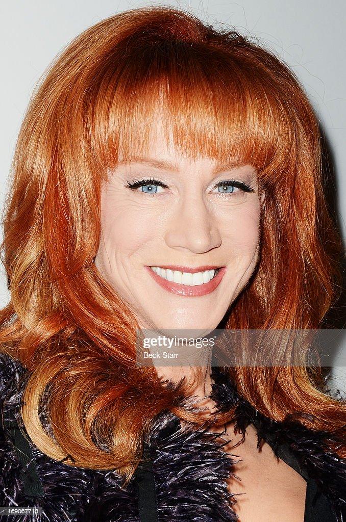 Event host comedian Kathy Griffin arrives at the L.A. Gay & Lesbian Center's 2013 'An Evening With Women' gala at The Beverly Hilton Hotel on May 18, 2013 in Beverly Hills, California.