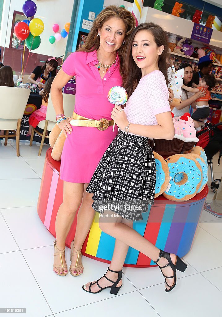 Event host Dylan Lauren (L) and Emma Fuhrmann attend Dylan's Candy Bar Candy Girl Collection LA Launch Event at Dylan's Candy Bar on May 17, 2014 in Los Angeles, California.