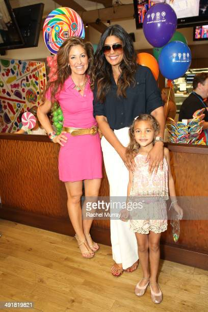 Event host Dylan Lauren and Rachel Roy attend Dylan's Candy Bar Candy Girl Collection LA Launch Event at Dylan's Candy Bar on May 17 2014 in Los...