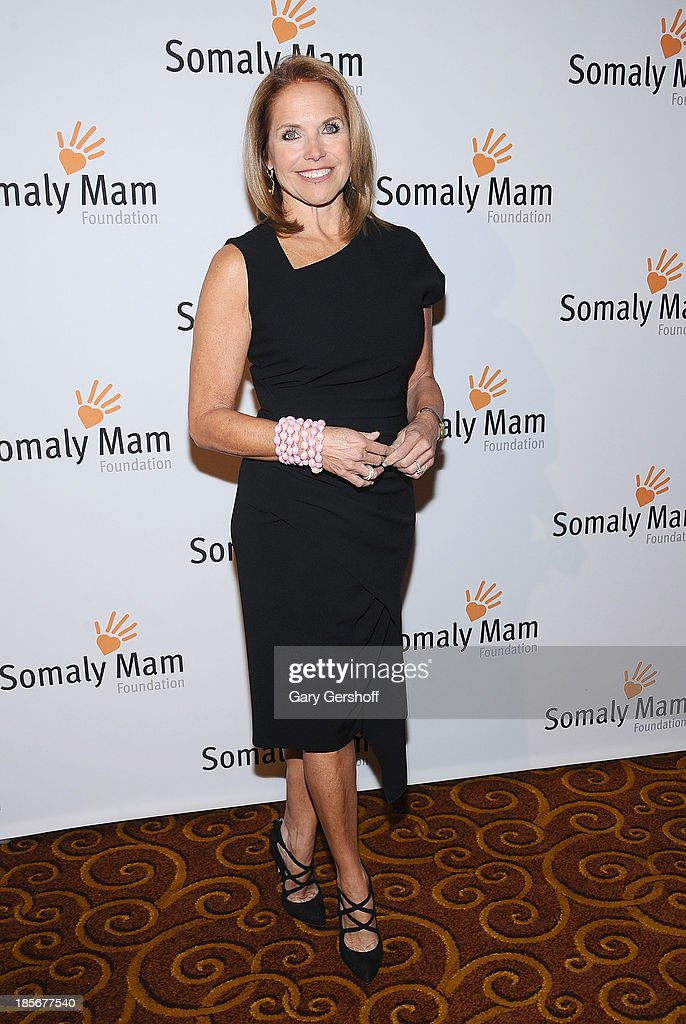 Event host <a gi-track='captionPersonalityLinkClicked' href=/galleries/search?phrase=Katie+Couric&family=editorial&specificpeople=202633 ng-click='$event.stopPropagation()'>Katie Couric</a> attends the Somaly Mam Foundation Gala at Gotham Hall on October 23, 2013 in New York City.