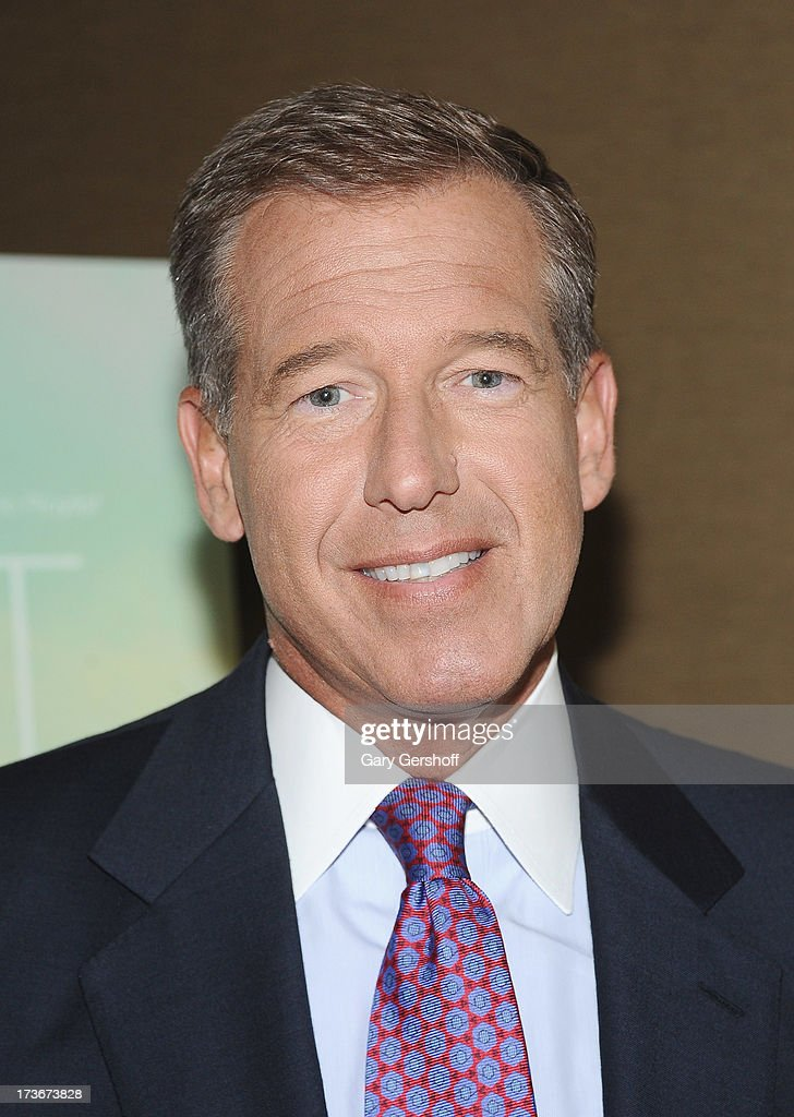 Event host, NBC Nightly News anchor <a gi-track='captionPersonalityLinkClicked' href=/galleries/search?phrase=Brian+Williams+-+News+Anchor&family=editorial&specificpeople=206917 ng-click='$event.stopPropagation()'>Brian Williams</a> attends the 'Short Term 12' New York Special Screening at Dolby 88 Theater on July 16, 2013 in New York City.