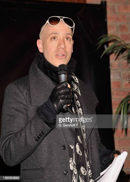 Event host Robert Verdi attends the Ecco Domani Fashion Foundation Decade of Style celebration at The Bowery Hotel on February 3 2011 in New York City