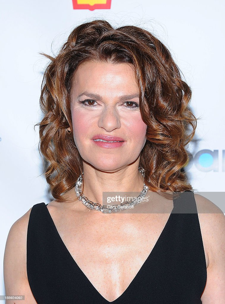 Event host Sandra Bernhard attends the 2012 Billboard Touring Awards Reception at The Roosevelt Hotel on November 8, 2012 in New York City.