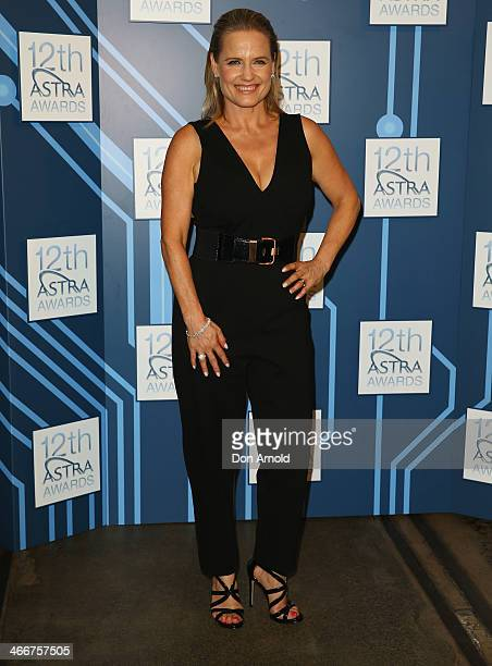 Event host Shaynna Blaze poses during 12th Annual ASTRA Awards Media Call at the Carriageworks on February 4 2014 in Sydney Australia
