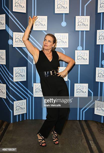 Event host Shaynna Blaze poses during a media call to announce nominees and voting open of the 12th Annual ASTRA Awards at The Carriageworks on...