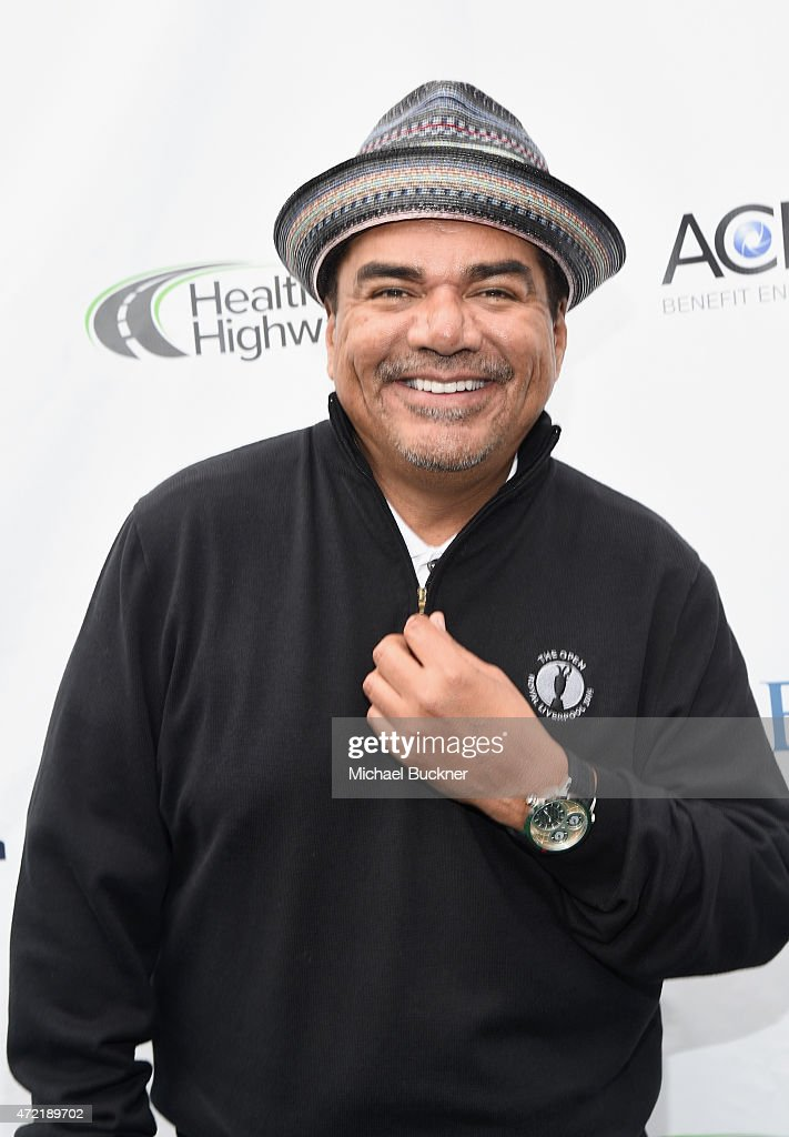 Event Host/comedian <a gi-track='captionPersonalityLinkClicked' href=/galleries/search?phrase=George+Lopez&family=editorial&specificpeople=202546 ng-click='$event.stopPropagation()'>George Lopez</a> attended the 8th Annual <a gi-track='captionPersonalityLinkClicked' href=/galleries/search?phrase=George+Lopez&family=editorial&specificpeople=202546 ng-click='$event.stopPropagation()'>George Lopez</a> Celebrity Golf Classic presented by Sabra Salsa to benefit The <a gi-track='captionPersonalityLinkClicked' href=/galleries/search?phrase=George+Lopez&family=editorial&specificpeople=202546 ng-click='$event.stopPropagation()'>George Lopez</a> Foundation on Monday, May 4th at the Lakeside Golf Club on May 4, 2015 in Toluca Lake, California.