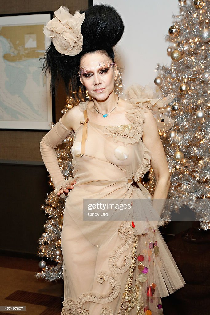 Event producer <a gi-track='captionPersonalityLinkClicked' href=/galleries/search?phrase=Susanne+Bartsch&family=editorial&specificpeople=783313 ng-click='$event.stopPropagation()'>Susanne Bartsch</a> attends the 'Tis The Season' annual toy drive hosted by <a gi-track='captionPersonalityLinkClicked' href=/galleries/search?phrase=Susanne+Bartsch&family=editorial&specificpeople=783313 ng-click='$event.stopPropagation()'>Susanne Bartsch</a> and <a gi-track='captionPersonalityLinkClicked' href=/galleries/search?phrase=David+Barton+-+Body+Builder&family=editorial&specificpeople=4547890 ng-click='$event.stopPropagation()'>David Barton</a> on December 17, 2013 in New York City.