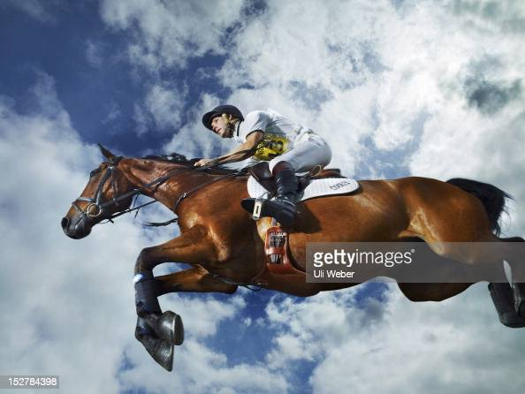 Event rider Harry Meade is photographed for Tatler magazine on June 9 2011 in Chippenham England