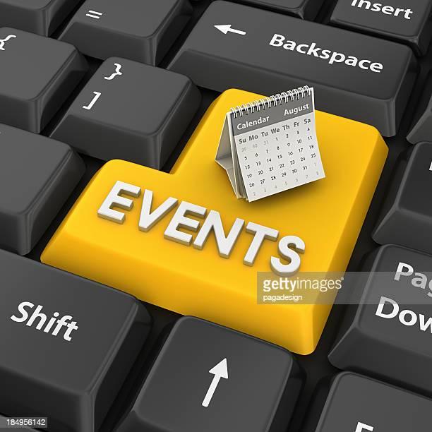 Veranstaltungen Eingabetaste