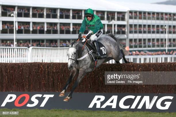 Eventual second placed Ma Filleule ridden by Nico de Boinville during the Baylis Harding Affordable Luxury Handicap Chase on Champion Day during the...