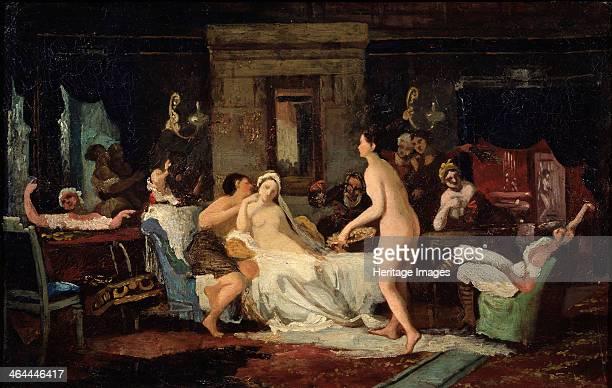Eveofthewedding Party in a Bath 1885 Found in the collection of the Regional W Wereshchagin Art Museum Mykolaiv