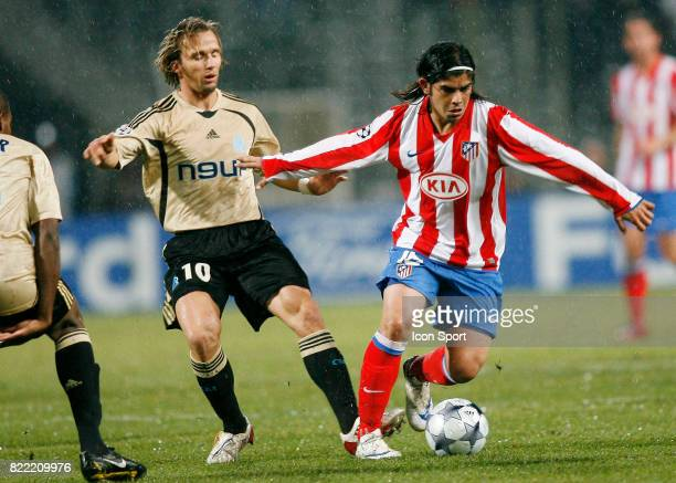 Ever BANEGA Marseille / Atletico Madrid Champions League 2008/2009