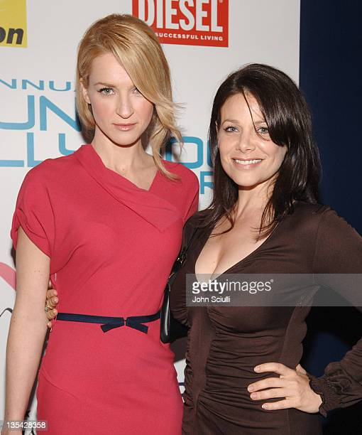 Ever Carradine and Meredith Salenger during Movieline's Hollywood Life 8th Annual Young Hollywood Awards Arrivals at Music Box at The Fonda in Los...