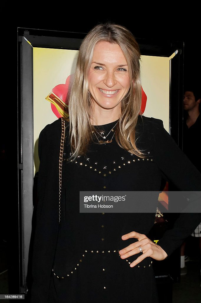 Ever Carradine attends 'The Brass Teapot' Los Angeles special screening at ArcLight Hollywood on March 21, 2013 in Hollywood, California.