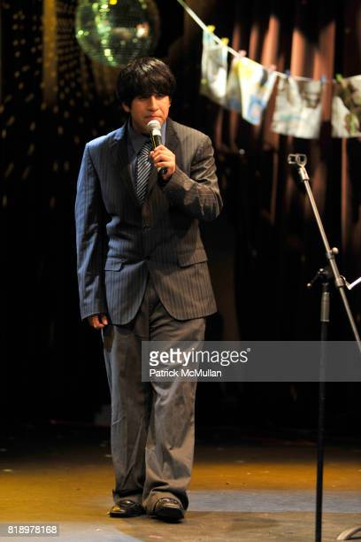 Everardo attends The East Harlem School presents 2010 Spring Poetry Slam at Highline Ballroom on May 4 2010 in New York City