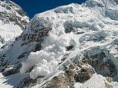 Everest Base Camp Avalanche