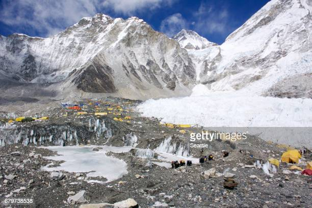 Everest base camp tents