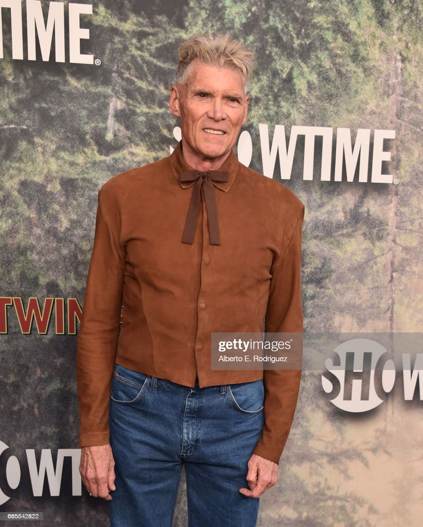 Everett McGill attends the premiere of Showtime's 'Twin Peaks' at The Theatre at Ace Hotel on May 19, 2017 in Los Angeles, California.