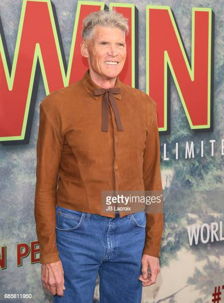 Everett McGill attends the premiere of Showtime's 'Twin Peaks' at The Theatre at Ace Hotel on May 19 2017 in Los Angeles California