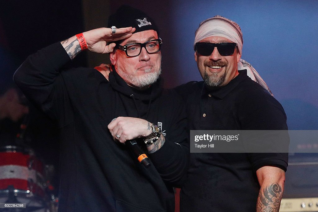 Everlast and B-Real perform during the Prophets Of Rage And Friends' Anti-Inaugural Ball at Teragram Ballroom on January 20, 2017 in Los Angeles, California.