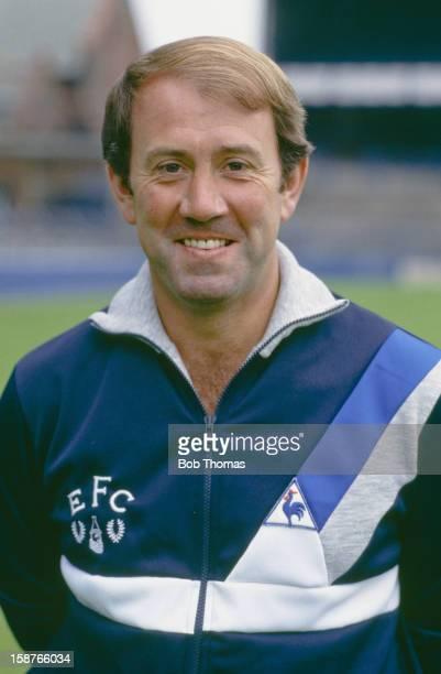 Everton football club manager Howard Kendall circa 1985