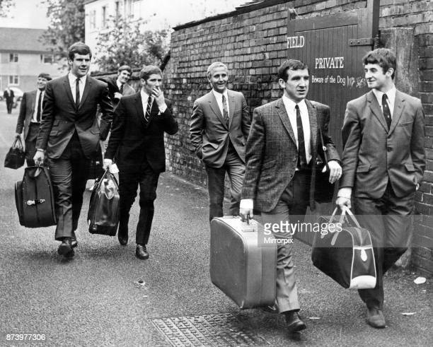 Everton football team off to Wembley The 1968 FA Cup Final was contested by West Bromwich Albion and Everton at Wembley West Bromwich won by a single...