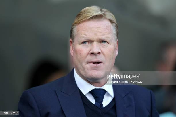 Everton manager Ronald Koeman
