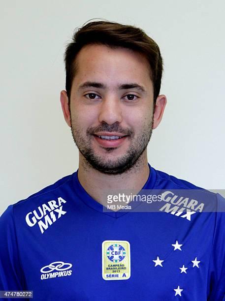 Everton Ribeiro of Cruzeiro Esporte Clube poses during a portrait session on August 14 2014 in Belo HorizonteBrazil