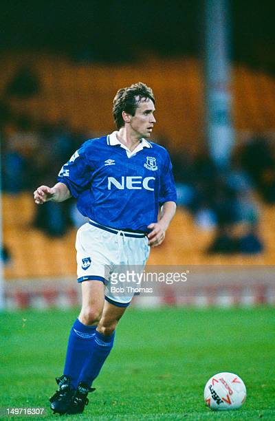 Everton right back Paul Holmes August 1993