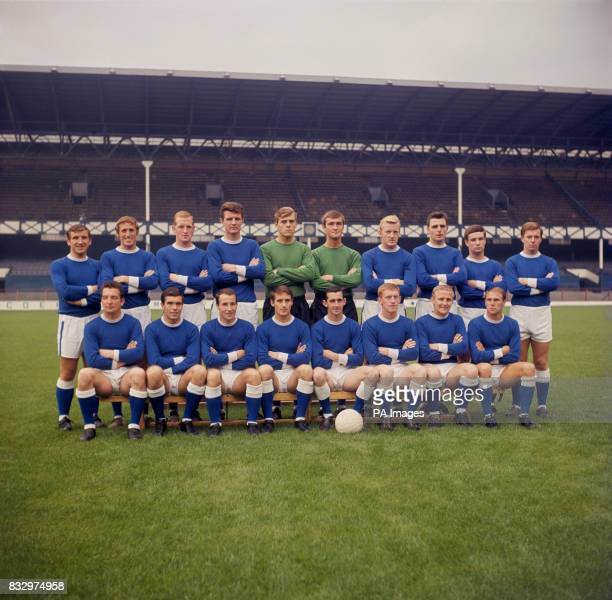 Everton team group 12/8/1964 Everton team group John Morrisey Brian Harris Sandy Brown Brian Labone Gordon West Andrew Rankin James Gabriel Frederick...