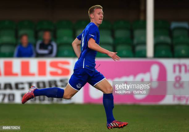 Everton U21's Harry Charsley