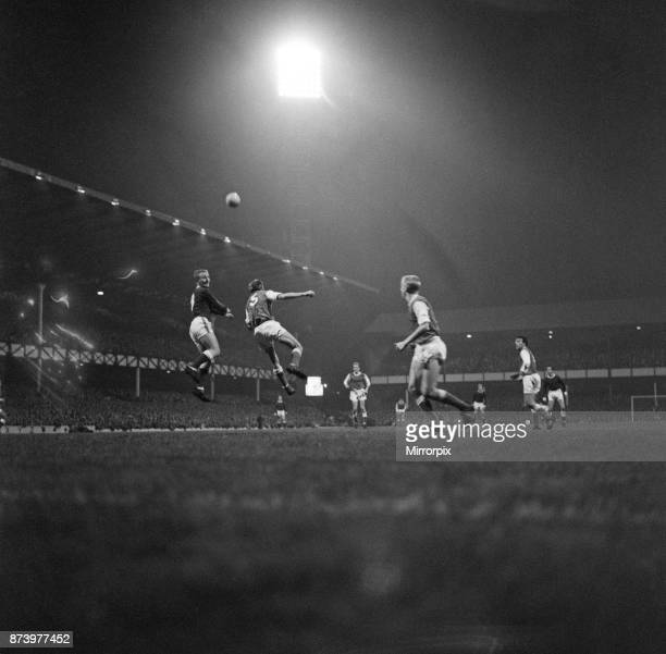 Everton v Arsenal League Division One final score 21 to Everton 2nd October 1963