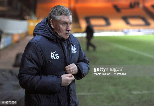 Everton youth team manager Kevin Sheedy