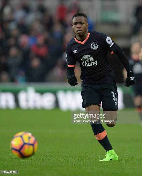 Everton's Ademola Lookman during the Premier League match at the Riverside Stadium Middlesbrough