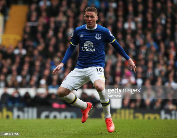 Everton's James McCarthy during Premier League match between Tottenham Hotspur and Everton at White Hart Lane London 05 Mar 2017