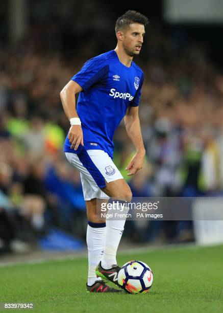 Everton's Kevin Mirallas during the UEFA Europa League PlayOff First Leg match at Goodison Park Liverpool PRESS ASSOCIATION Photo Picture date...