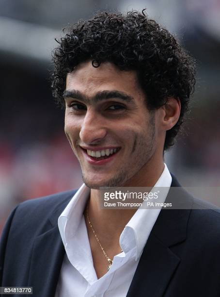 Everton's Marouane Fellaini who they recently bought from Standard Liege