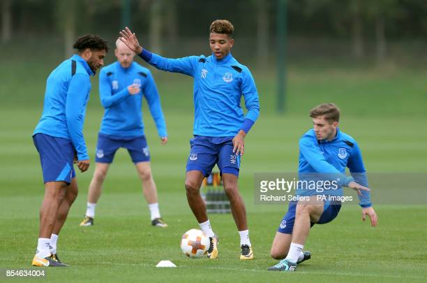 Everton's Mason Holgate during the training session at Finch Farm Liverpool PRESS ASSOCIATION Photo Picture date Wednesday September 27 2017 See PA...