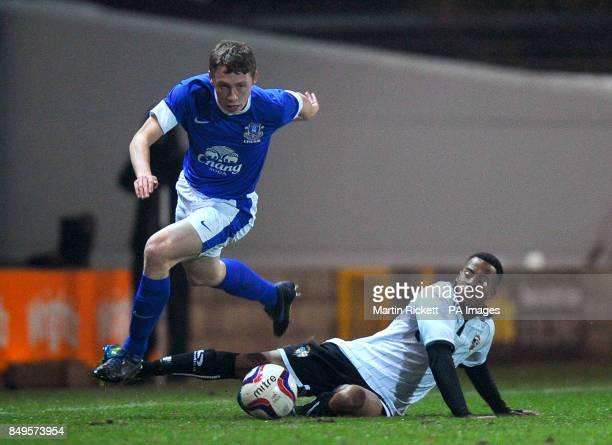 Everton's Matthew Pennington