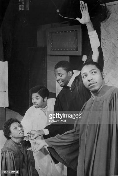 APR 4 1977 APR 6 1977 APR 10 1977 'Every day's gonna be Sunday' the clergymen promise congregation member Beverly Harbin in the musical hit 'Don't...